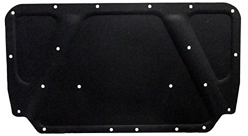 Molded Hood Pad - Repops Automotive Reproductions Hood Insulation Pad Molded Fiberglass 1pc 1969-69 Plymouth/Dodge w Clips