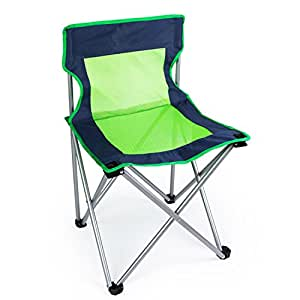 JUIANG Thicken with Mesh Breathable Folding Chair Fishing Leisure Back Outdoor Chair load-bearing 100kg , b