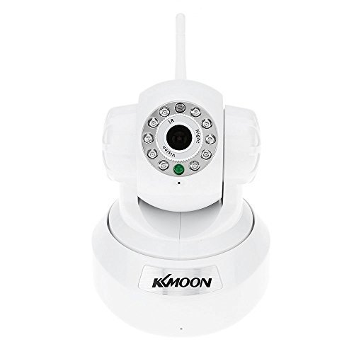 KKMOON HD 1.0MP Wireless Security WIFI IP Camera PnP P2P Pan Tilt IR Cut WiFi Wireless Megapixel Surveillance Camera Network IP Webcam Mjpeg Network Camera