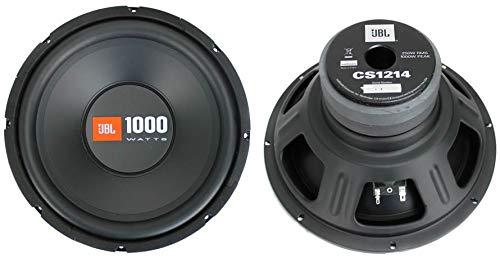 2 JBL CS1214 12 2000W Car Subwoofers Power Subs Audio Woofers 4 Ohm SVC Black