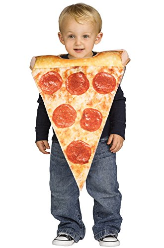 Toddler Lil Pizza Slice Halloween Costume Size 3T-4T -
