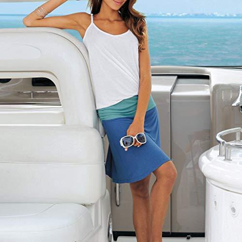 Bohemia Pieghe Vestito Tunica Viola Dress Comode A Navy Senza Rosso Rotondo Nero Maniche Dragon868 Donna Patchwork Collo pUVGLqSzM