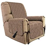 Recliner Micro Suede Sofa Cover Sofa Shield Water Resistant Couch Shield Quilted Anti-Slip