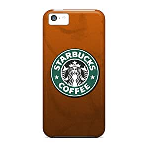 Fashion Protective Starbucks Coffee Case Cover For Iphone 5c