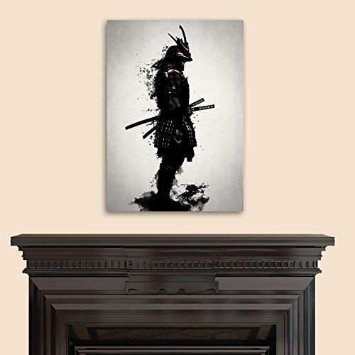 """Epic Graffiti \""""Armored Samurai\"""" by Nicklas Gustafsson, Giclee Canvas Wall Art, 18\""""x26\"""""""