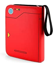 Trading Card Holder Album, Pokémon Kaartmap, Pokémon Poké Ball Design, Mouwen Kaartenboek Geschikt voor Pokémon Trading Cards, GX EX, TCG Card, Yu-Gi-Oh, MTG Magic, Ninjago Card