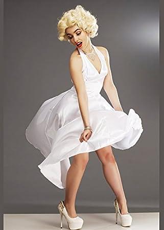 Disfraz clásico de Marilyn Monroe Small (UK 8-10): Amazon.es ...
