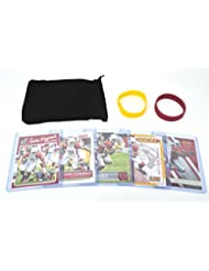 Larry Fitzgerald Football Cards Assorted (5) Bundle - Arizona Cardinals Trading Cards