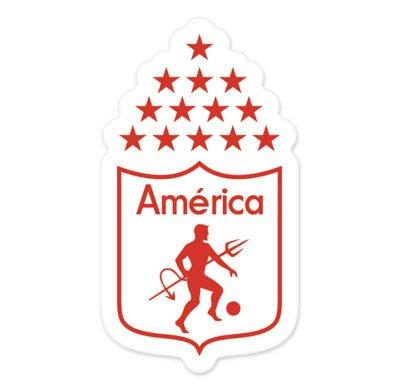 CD America Cali - Colombia Football Soccer Futbol - Car Sticker - (Colombia Car)