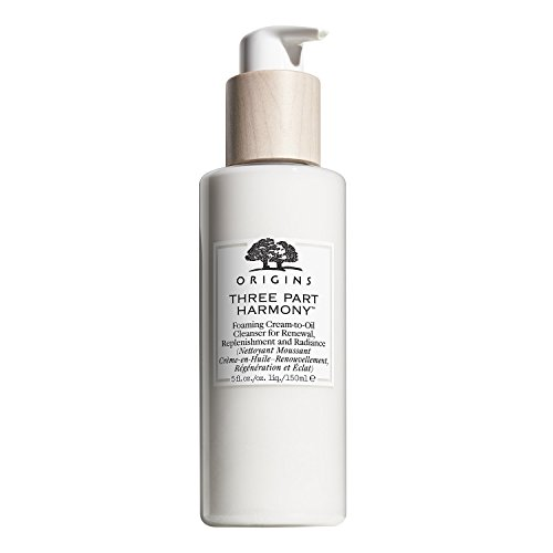 Three Part Harmony Foaming Cream-to-Oil Cleanser for Renewal, Replenishment and Radiance, 5 oz ()