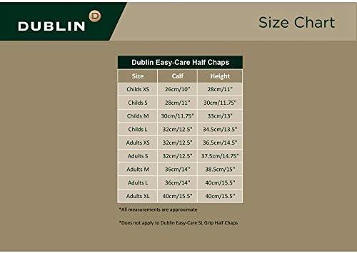 Dublin Childrens//Kids Easy-Care Spot Print Half Chaps