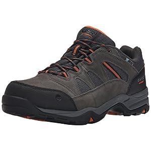 Hi-Tec Men's Bandera II Low Waterproof Hiking Shoe, Charcoal/Graphite/Burnt Orange, 12 M US