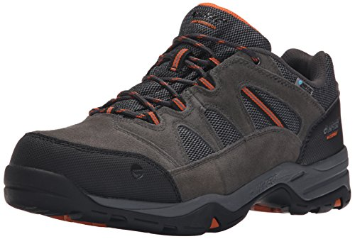 Hi-Tec Men's Bandera II Low Waterproof Hiking Shoe, Charcoal/Graphite/Burnt Orange, 12 M US