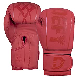 Well-Being-Matters 41ZOEKtvAdL._SS300_ DEFY Boxing Gloves for Men & Women Training MMA Muay Thai Premium Quality Gloves for Punching Heavy Bags Sparring…