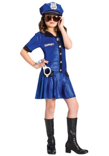 Cute Female Costumes (Fun World Police Girl Costume Medium)