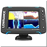 Lowrance Elite-7 Ti Touch Combo - Med-High-455-800 HDI Transom Mount w-Navionics+ Chart