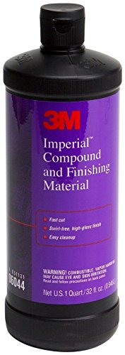 3M Marine Compound and Finishing Material (06044) - For Boats and RVs - 32 Ounces (Power Rangers Rpm Formula)