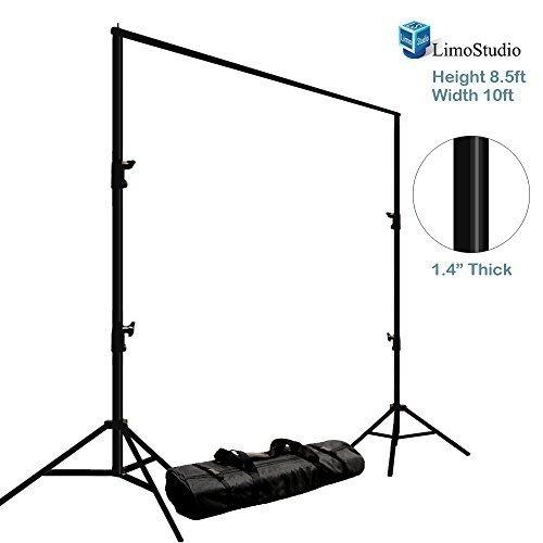 LimoStudio Photo Video Studio Adjustable Muslin Background Backdrop Support System Stand & Cross Bar, AGG1111