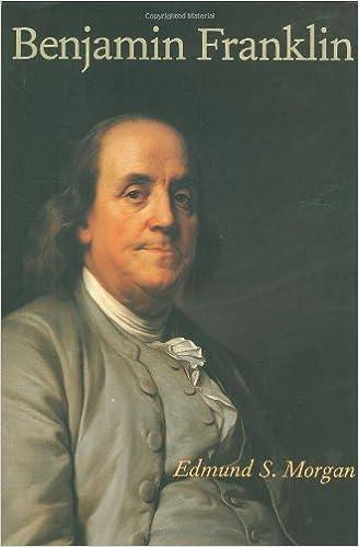 Amazon.com: Benjamin Franklin (9780300095326): Edmund S. Morgan: Books