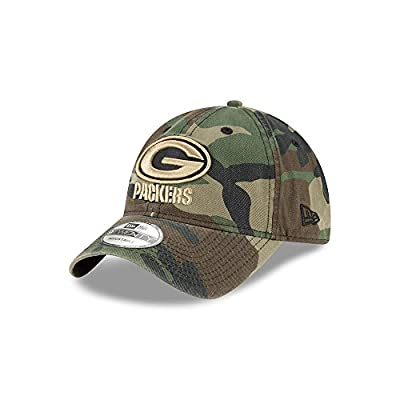 Green Bay Packers Camo Core Classic Twill 9TWENTY Hat / Cap