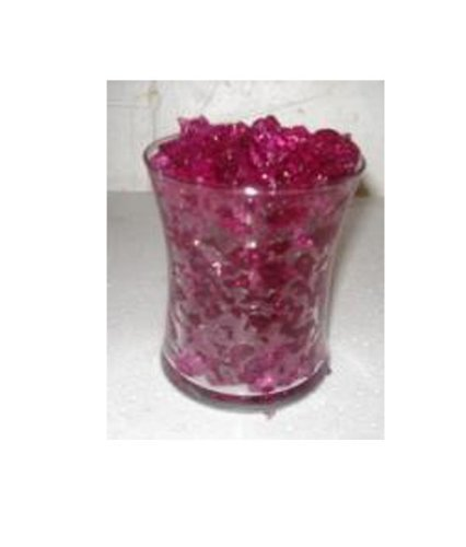 """Purple Vase Filler - Water Storing Jelly Crystals - """"Royal Purple Amethyst"""" Cracked Ice Water Gel Crystals All Event Centerpiece Decorations - Bulk Package Makes 3 Gallons of Hydrated Crystals"""