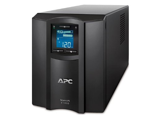 APC Smart-UPS 1000VA UPS Battery Backup with Pure Sine Wave Output (SMC1000) (Backups Smart Ups 1000)