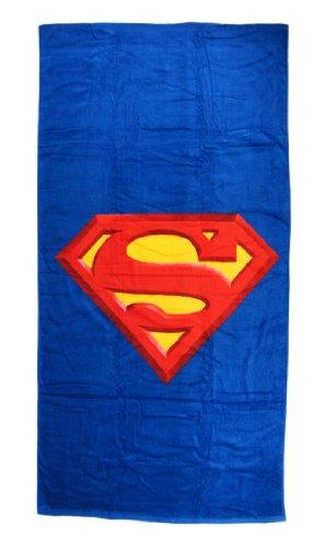 Superman Logo Beach Towel 30 in. X 60 in.