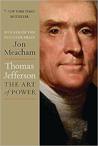 Thomas Jefferson: The Art of Power, Meacham, Jon