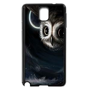 Owl Design Pattern Hard Skin Back Case Cover Potector For Samsung Galaxy Note 4 Case HSL437939