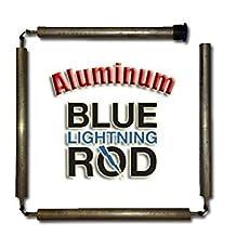 "Blue Lightning Aluminum/Zinc Flexible Anode Rod, Hex Plug, 42"""