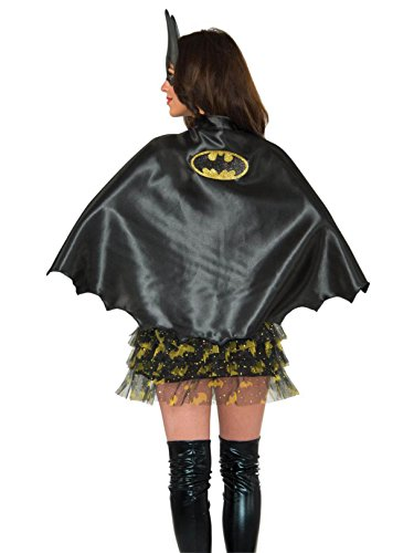 Rubie's Costume Co Women's DC Superheroes Cape, Batgirl]()