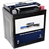 Chrome Battery 30L-BS High Performance Power Sports Battery (YTX30L-BS)