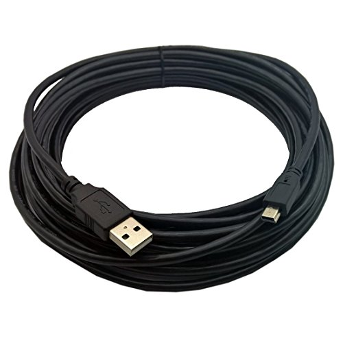 Inovat USB2-A-MB-25ST, Premium 25ft USB 2.0 A to Mini B 5 Pin USB Cable ()