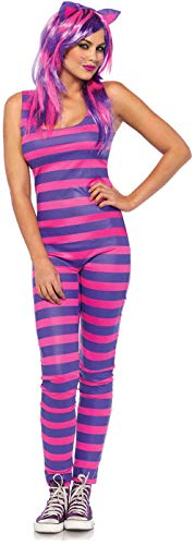 Striped Cat Tail Costumes - Leg Avenue Women's Costume, Pink/Purple,