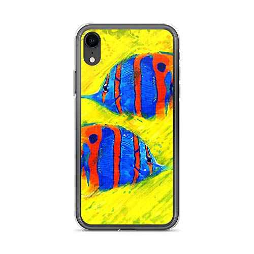 iPhone XR Case Anti-Scratch Creature Animal Transparent Cases Cover Fish Ii Animals Fauna Crystal Clear