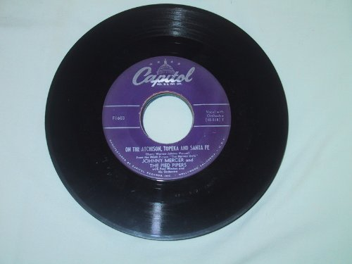 On The Atchison, Topeka And Santa Fe + Conversation While Dancing [7-inch 45rpm - Topeka Mall