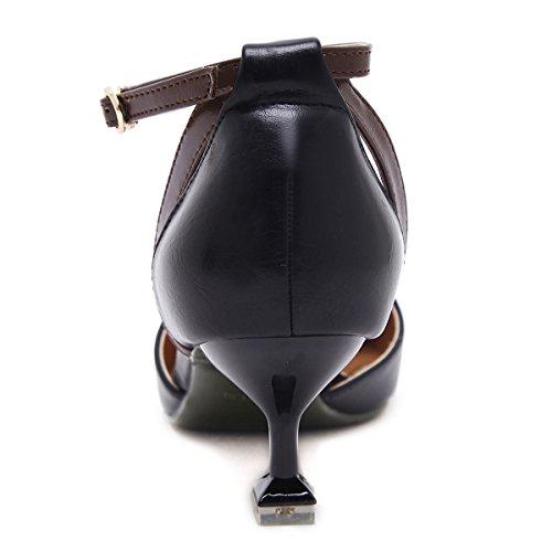 selvatici dispositivi KPHY fine unico i con un nero scarpe di cava 39 di asolati suggerimenti scarpe singolo con moda 37 e Bene fissaggio xw8ZHx