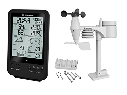 Bresser Weather Station 5-in-1 Weather Center with All-In-One outdoor...