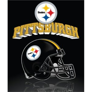 (Pittsburgh Steelers Grid Iron Fleece Blanket)