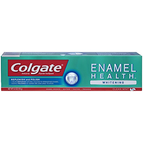 Colgate Enamel Health Whitening Toothpaste, Clean Mint - 5.5 ounce