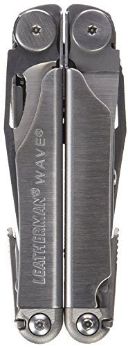 037447710636 - Leatherman 830039 Wave Multitool with Leather/Nylon Combination Sheath, Silver carousel main 7