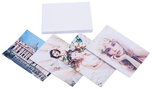 Matte Photo Paper 4 x 6 Inches (50 Sheets) 58lbs/220gsm, Double ()