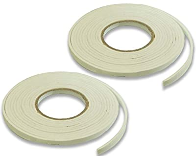 9MM Thick Self-Adhesive Weather Strip : ( Pack of 2 Self-adhesive WeatherStrips )