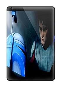 New Fashion Premium Tpu Case Cover For Ipad Mini/mini 2 - Star Wars Clone Wars