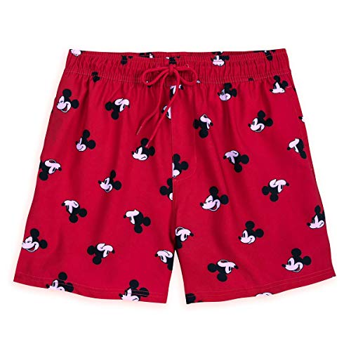 (Disney Mickey Mouse Swim Trunks for Men - Oh My Size Mens M Red)