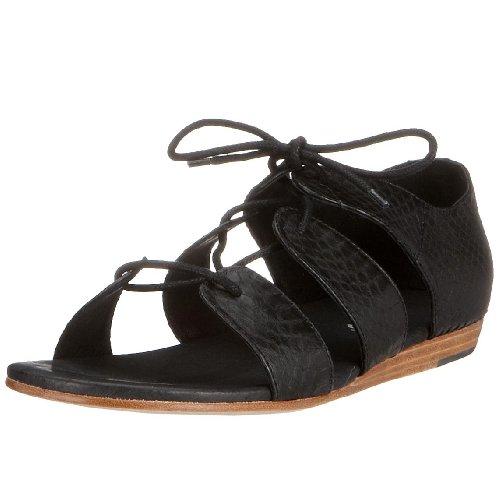 flip*flop - Sandalias de vestir de cuero para mujer Negro