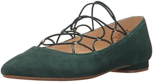 Nine West Women's Opendador Suede Ballet Flat