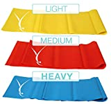 Cheap Ofinito Open Ended Booty Resistance Bands For Women and Men – 3′ x 4″ Hypoallergenic Non Latex Resistance Bands Set – at Home Workout Gear Targets Butt, Hips, Thighs and Arms