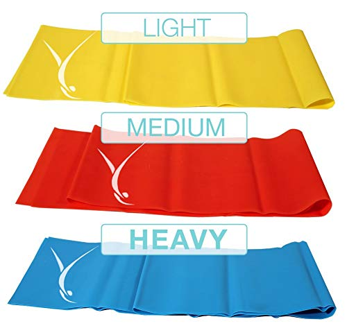 (Ofinito Open Ended Booty Resistance Bands For Women and Men - 3' x 4