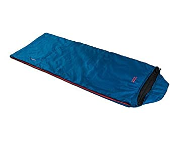 SnugPak Travelpak Traveller Sleeping Bag, Red, LH Zipper